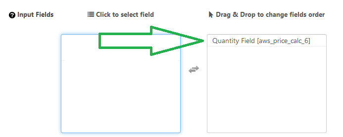 Add Quantity Field to Calculator